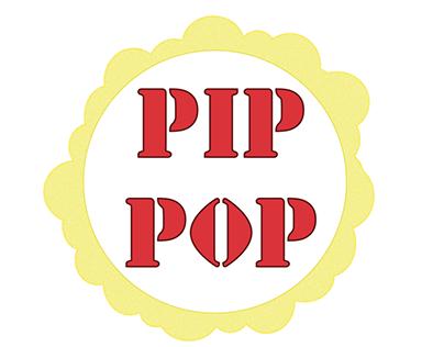 PIP POP - activação de marca