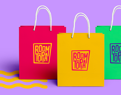 Identidade Visual - Roomtopia