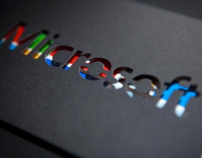 Microsoft France - Greetings Card 2013