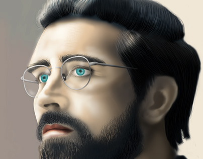 Digital Art - Portrait Lee Pace 01