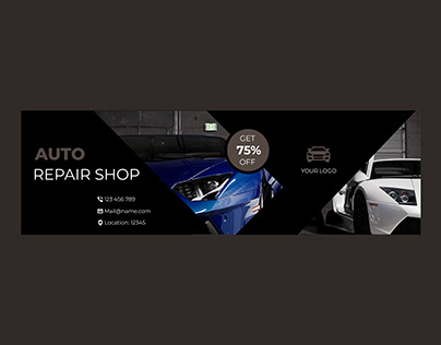 Auto Repair Shop Banner