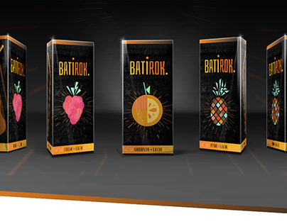 BATIROK - Batidos frutales para teens