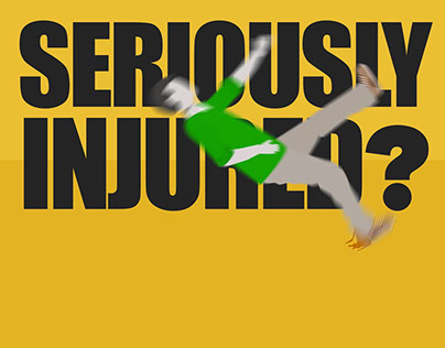 Kinetic Typography Seriously Injured TV spot
