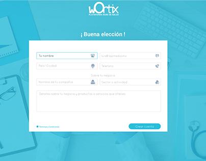 Landing Page Wortix