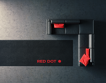 RED DOT - ArchViz Minimal full CGI