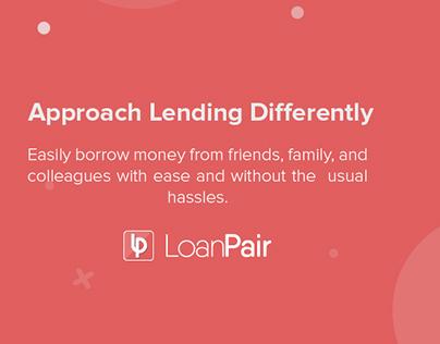 LoanPair - Peer to Peer Mobile Lending Platform