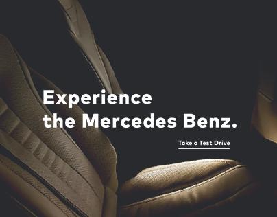 Mercedes Benz Microsite Concept