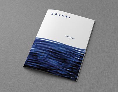 """""""book & I"""" book design"""