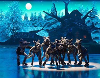 Motion Graphic Project - Masha and the Bear on Ice