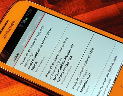 CKŠP mobile app