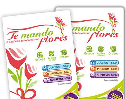 Te Mando Flores - Retail / Publicidad / Diseño Gráfico