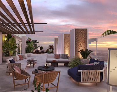 penthouse terrace design