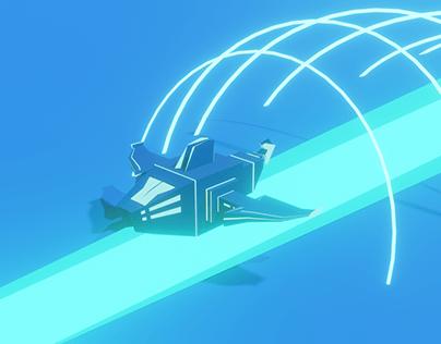 Space Plane 3D Blender   Zalepik