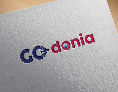 Go Donia Logo - Travel logo