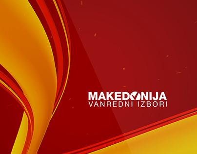 Macedona Elections 2016 Visual Identity