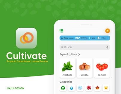 Cultivate | UX/UI Design