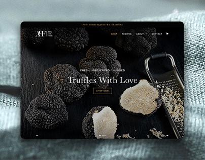 Adria Fine Foods Shopify Store