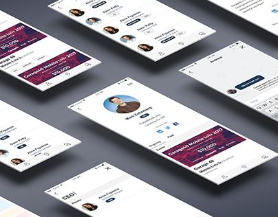 Eventy - event socializing app