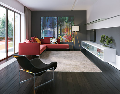 house P-07 interior