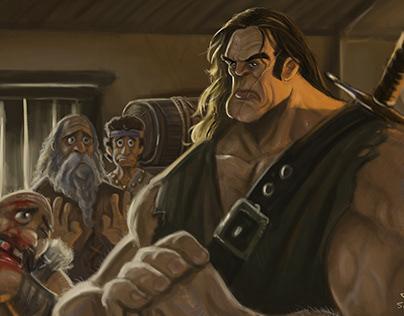 conan the barbarian ' anyone else ? '