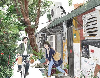 台灣愛情故事 TAIWAN LOVE STORY(2)---meet each other