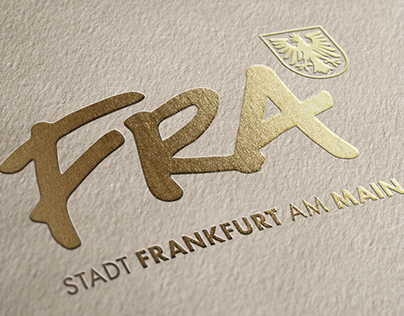 Brand development for Frankfurt am Main