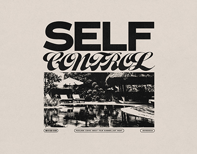 Self Control - Alternative Single Cover & Packaging