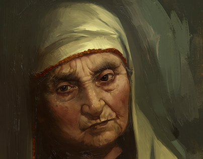 Portrait of my Grandmother