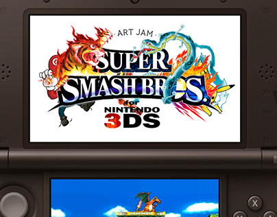 Super Smash Bros for 3DS × Art Jam