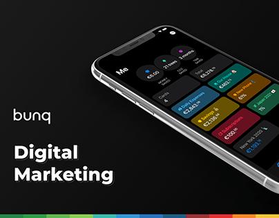 bunq Digital Marketing