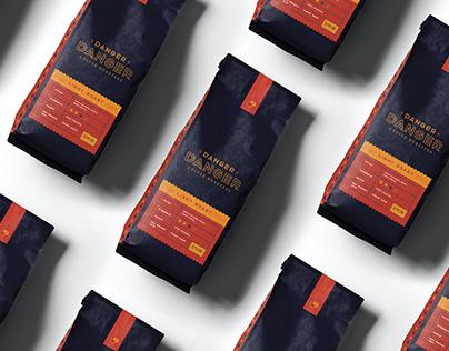 Danger Danger Coffee Roasters Package Design