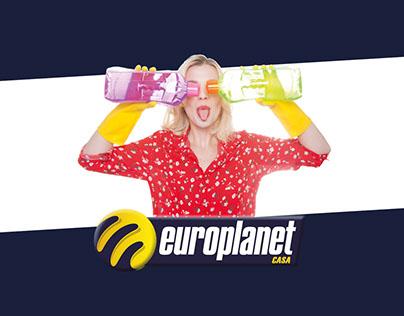 Europlanet Casa - Immagine negozi e comunicazione