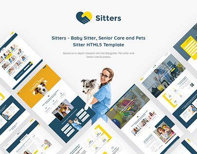 Sitters - Baby Sitter, Pet Sitter HTML5 Template