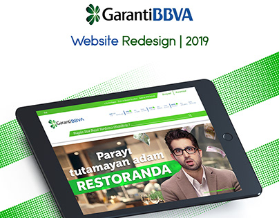 Garanti BBVA Website Redesign