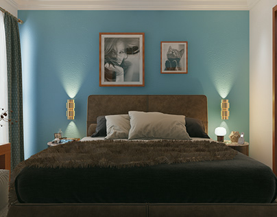 Master Bedroom (Interior Design)