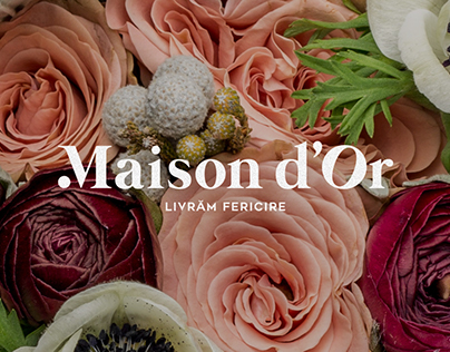 Maison d'Or - Flower Shop Branding