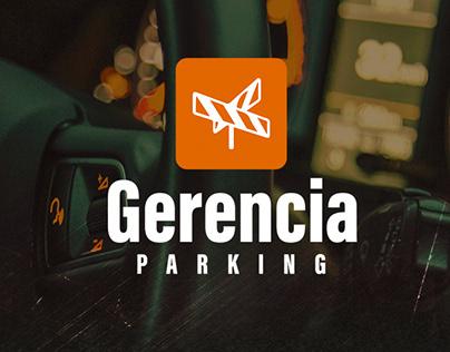 Desenvolvimento UI/UX do aplicativo Gerencia Parking