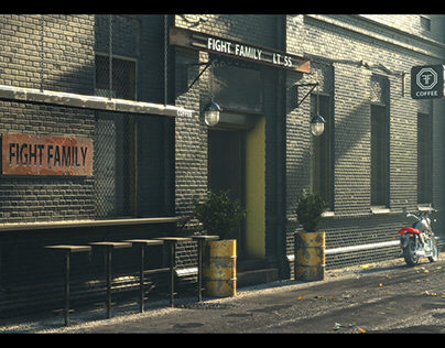 Black Coffe - Figh Family LT 55 Full CG Shot Animation