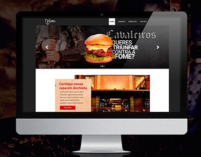 Website - Excallibur Restaurante e Choperia