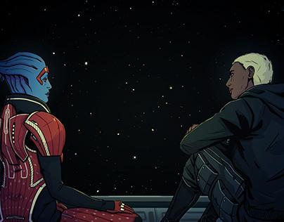 Shepard and Samara