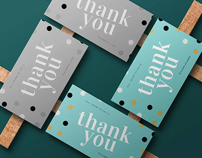 Product / Thank you card