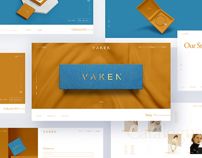 Vaken - Brand Identity, Packaging, Web Design