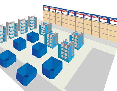 Store Layout Illustration