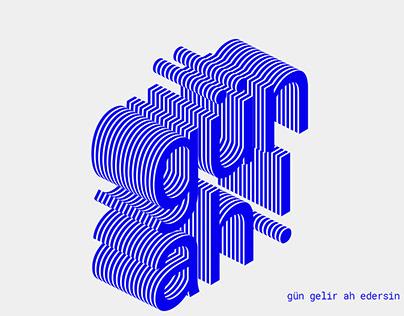 Book Design / Gün AH!