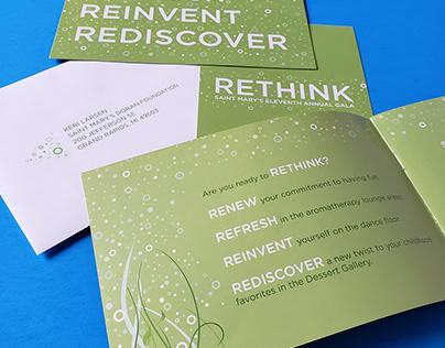 "Gala invitation: ""Rethink"""
