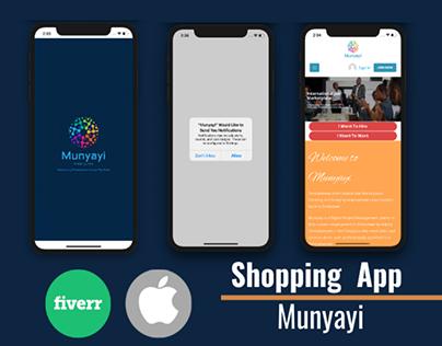 Munyani - Shopping App - Webview