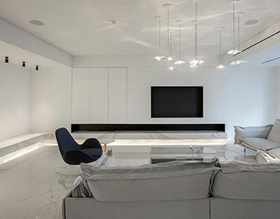 "White Apartment / ""ZAART architects"""
