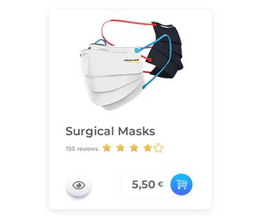 Medical Online Shop - Minimal Design 2020