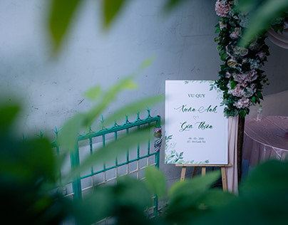 Wedding Ceremony Gia Thien - Xuan Anh 05.2020