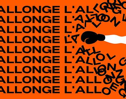 L'Allonge - Typeface preview